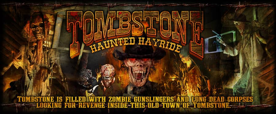 Haunted Hayride Missouri Tombstone