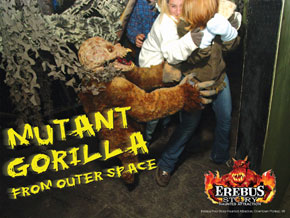 Kentucky Haunted House Mutant Gorilla