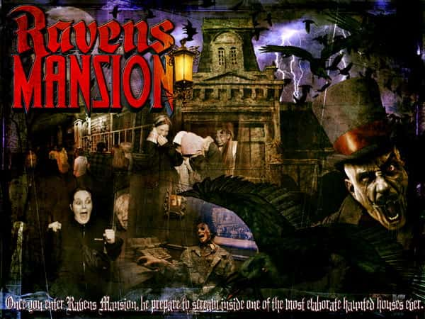 Haunted House Missouri Raven Mansion