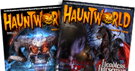 Haunted House Magazine Artwork