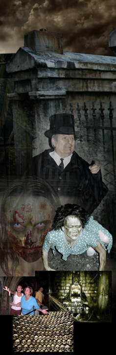 halloween haunted houses in Baton Rouge