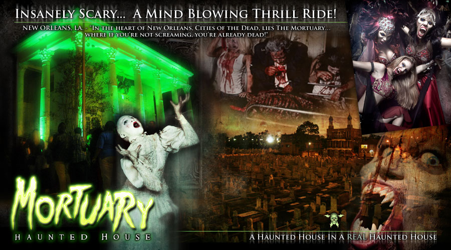 Haunted Houses New Orleans