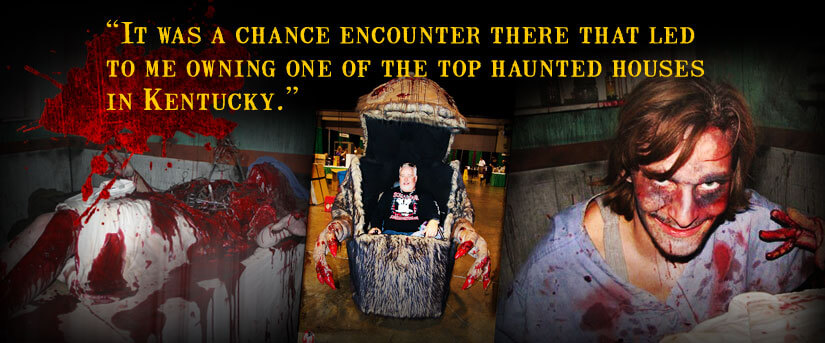 haunted house Lexington