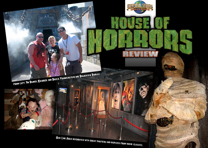 haunted houses in Los Angles