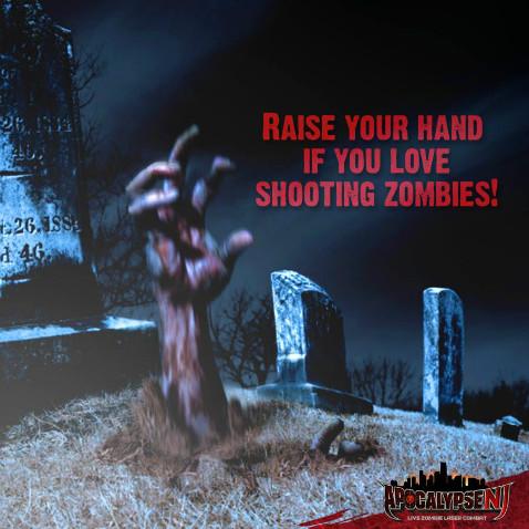 Apocalypse Nj Live Zombie Laser Combat In Livingston Nj