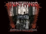 Haunt Manor Hayrides and Haunted Houses Logo
