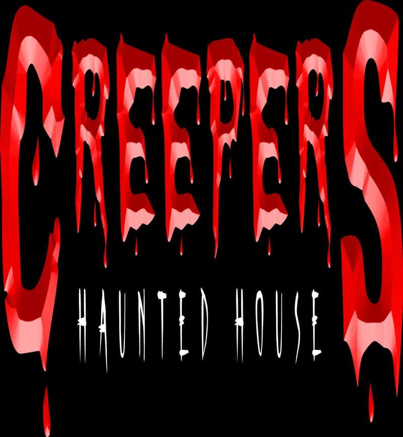 Creepers Haunted House Logo