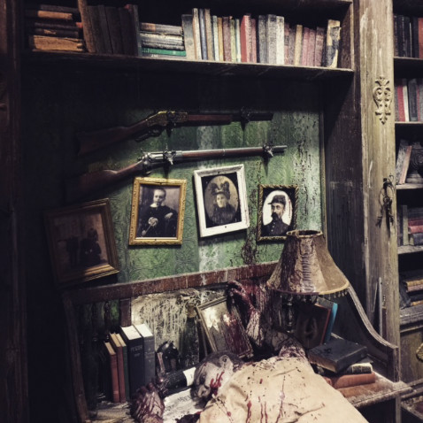 Haunted house in st louis missouri the darkness for Halloween haunted room ideas