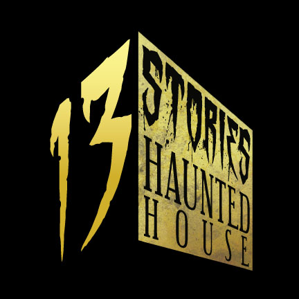 13 Stories Haunted House Logo