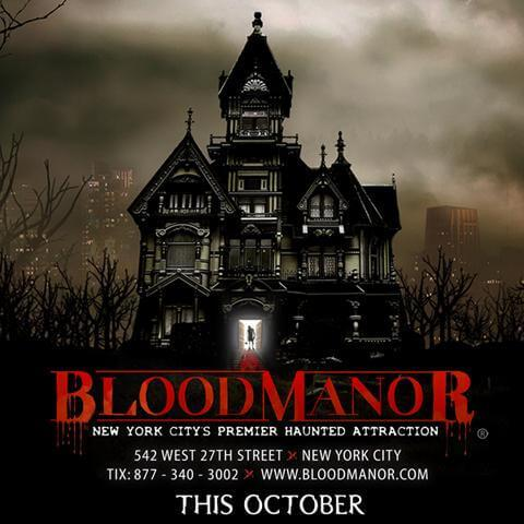 Blood Manor Logo