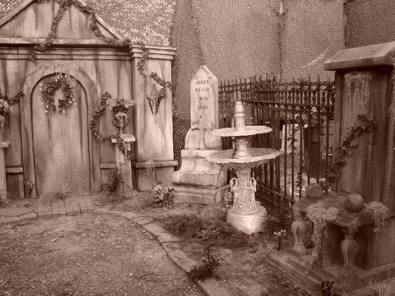 New Haunted Graveyard