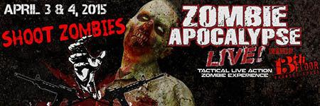 Zombie apocalypse live phoenix in phoenix az for 13th floor scottsdale az