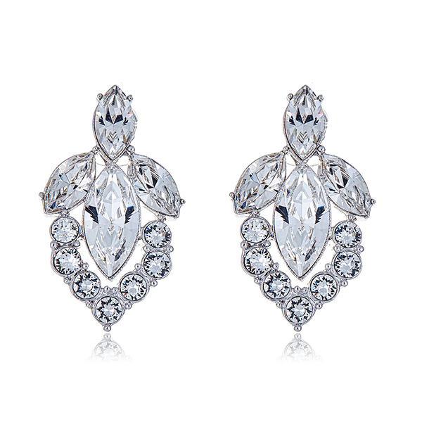 Marquis Crystal Earrings by BEN-AMUN