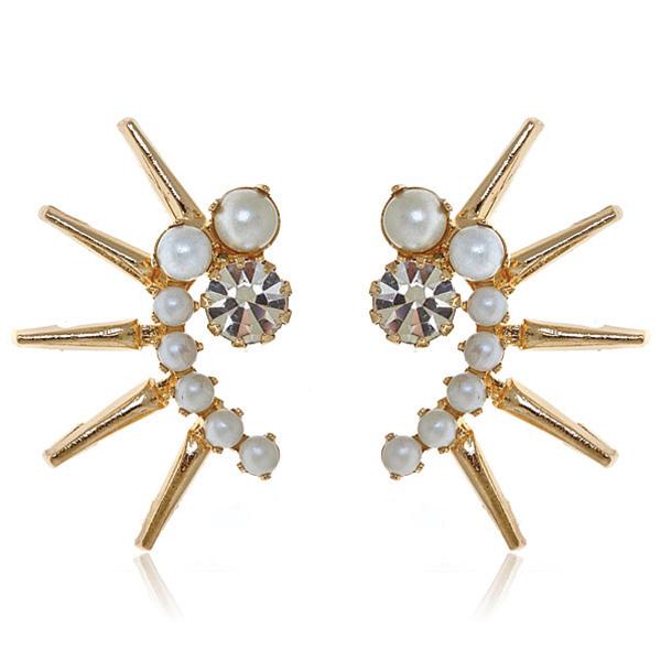 Aeryn Pearl Earring by ELIZABETH COLE