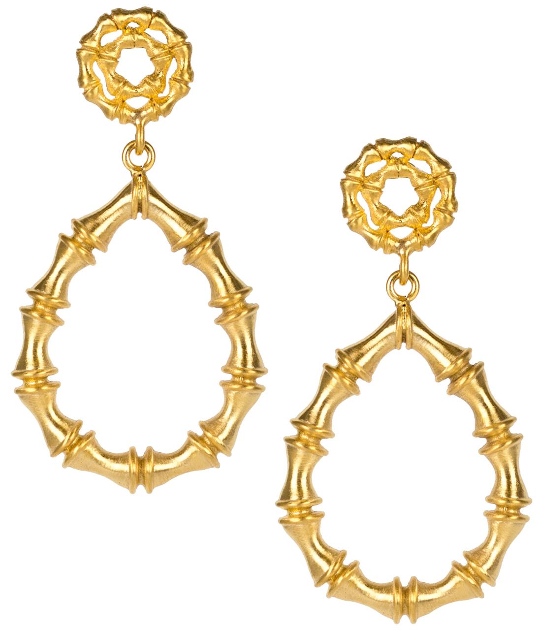 Bamboo Kate Earrings