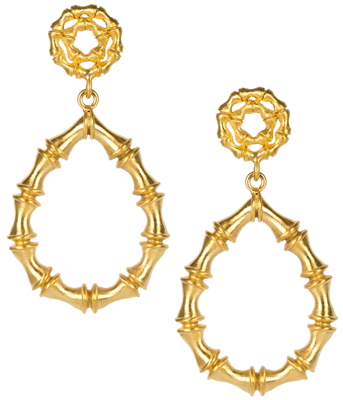 Bamboo Kate Earrings by LISI LERCH