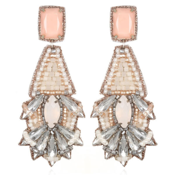 Barsaloi Blush Earrings by Suzanna Dai
