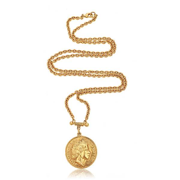 Ben-Amun Coin Necklace by BEN-AMUN