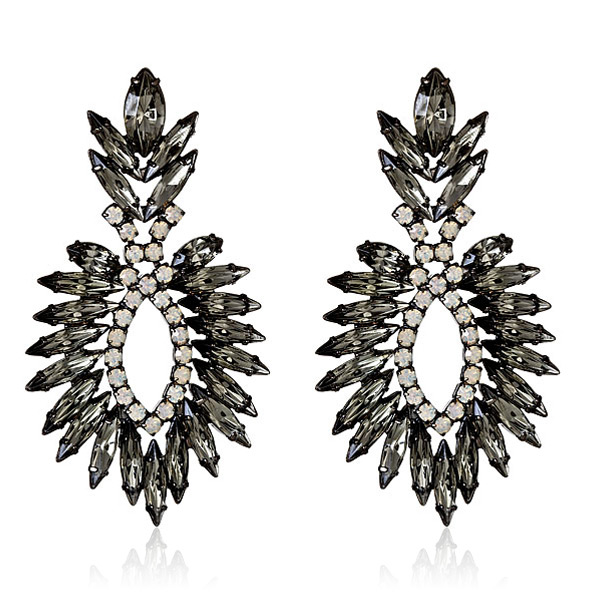 Beverly Swarovski Earrings by ELIZABETH COLE