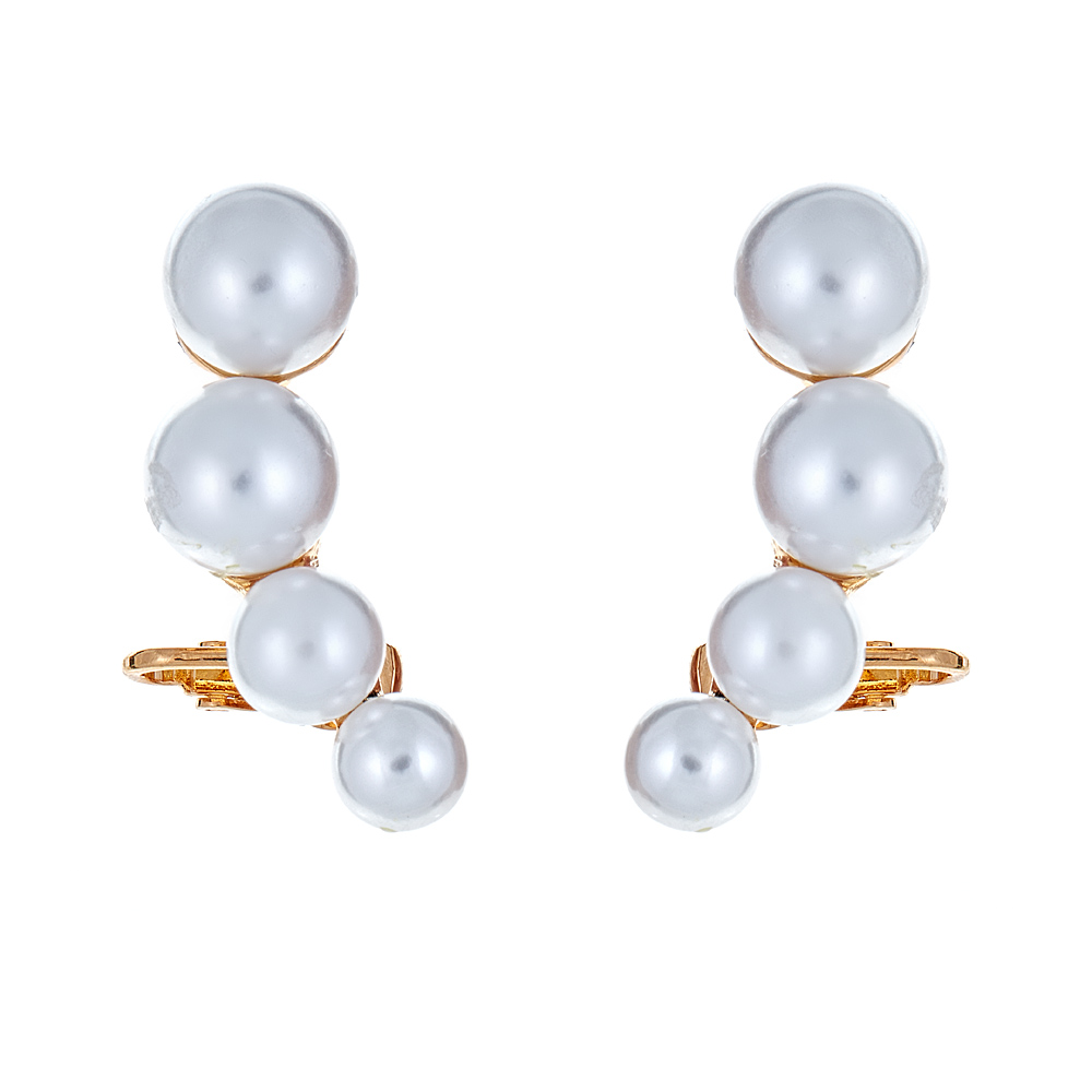 Pearl Ear Climbers by KENNETH JAY LANE