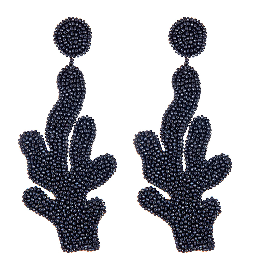 Black Branch Earrings by FRENCH AND FORD