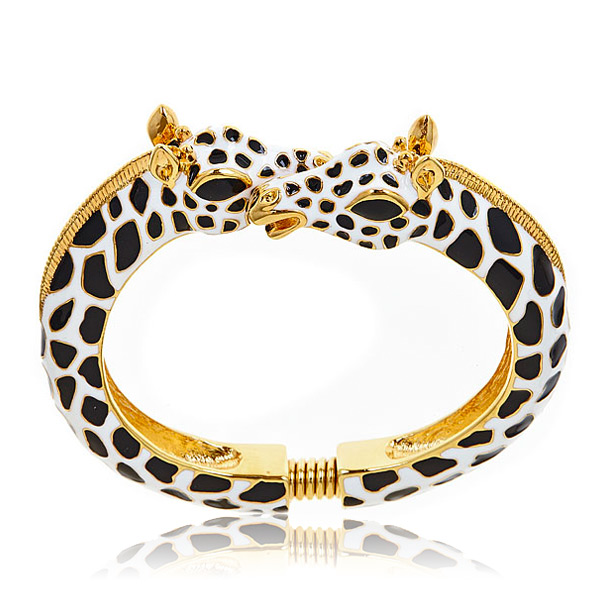 Black Giraffe Bracelet by KENNETH JAY LANE