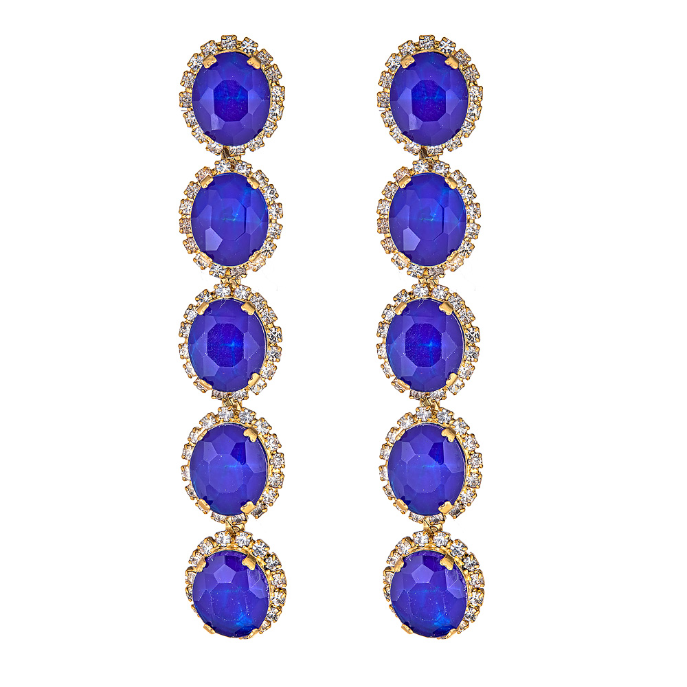 Blue Von Earrings by ELIZABETH COLE