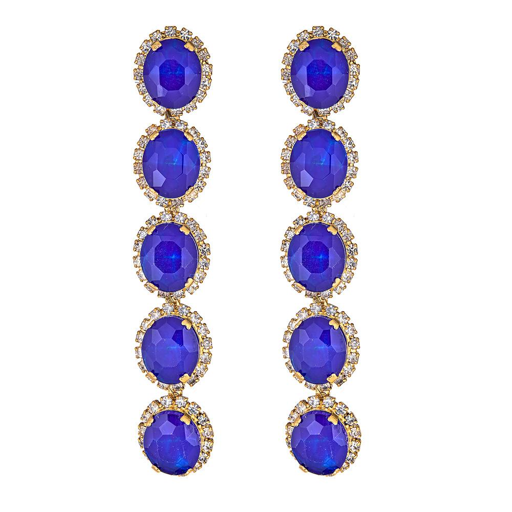 Blue Von Earrings by ELIZABETH COLE