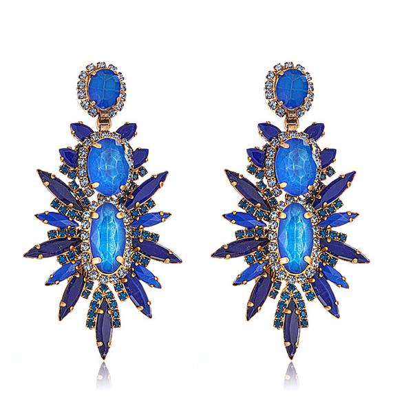 Odessa Earrings in Blue Elizabeth Cole dow9aOw