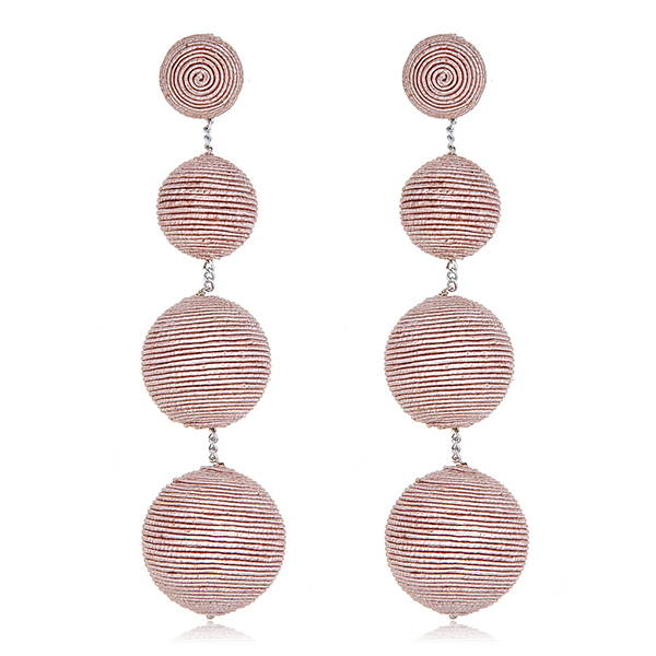 Blush Gumball Bon Bon Earrings by SUZANNA DAI
