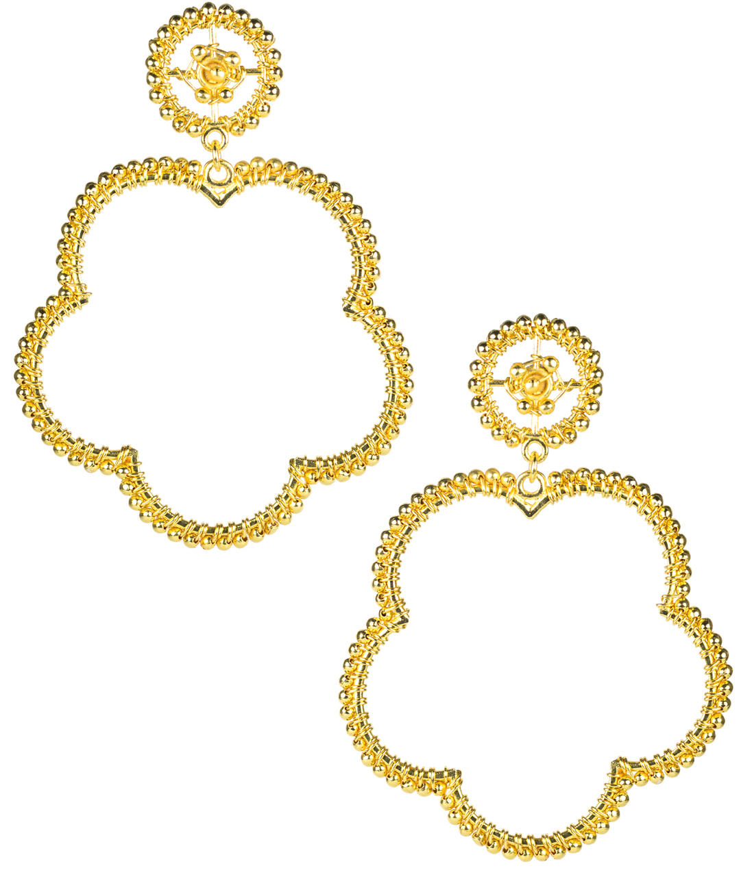 Bobbi Gold Earrings by LISI LERCH