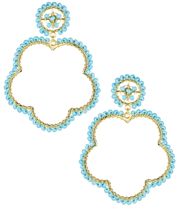 Bobbi Turquoise Earrings by LISI LERCH