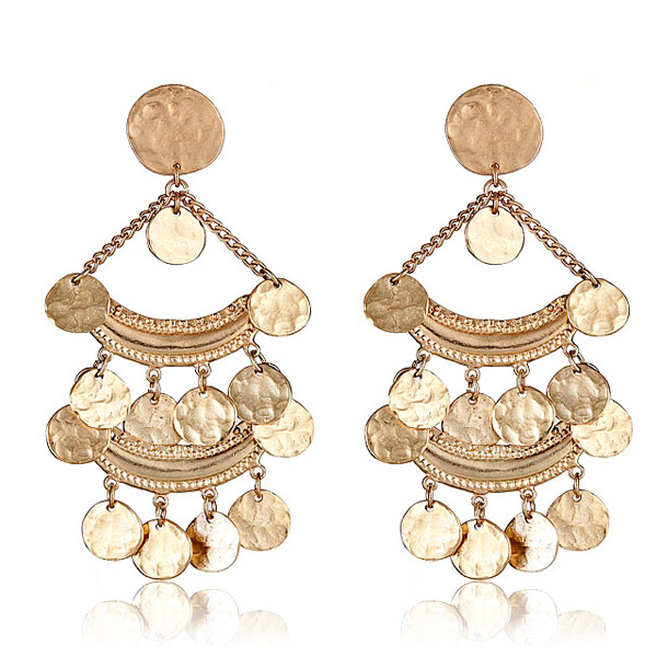 Bohemia Coin Earrings by KENNETH JAY LANE