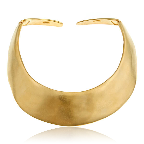 Gold Collar  by KENNETH JAY LANE