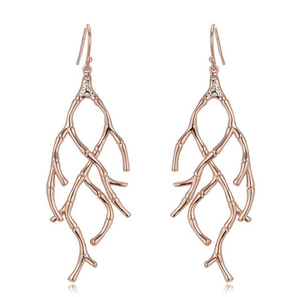 Branch Bamboo Earrings by MARCIA MORAN
