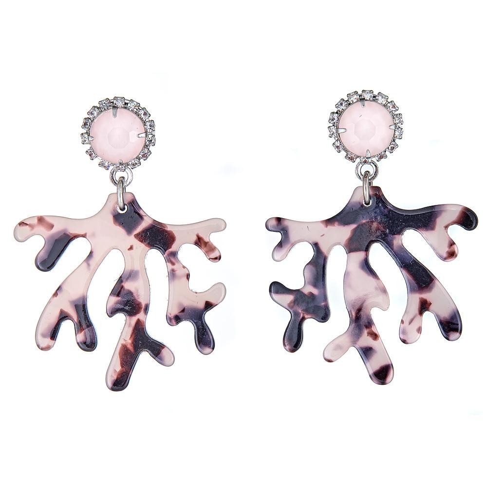 Brynn Tortoise Earrings by ELIZABETH COLE