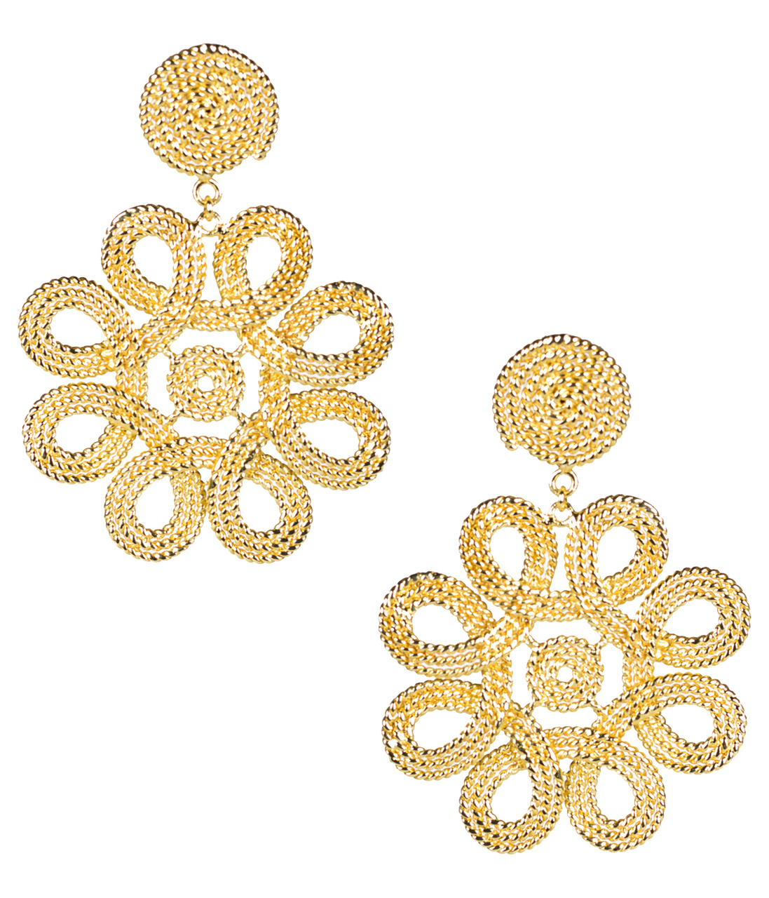 Cameran Gold Earrings by LISI LERCH