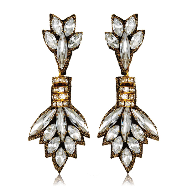 Chrysler Drop Earrings by SUZANNA DAI