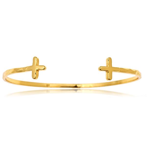 Cross Over Cuff Bracelet by Gorjana
