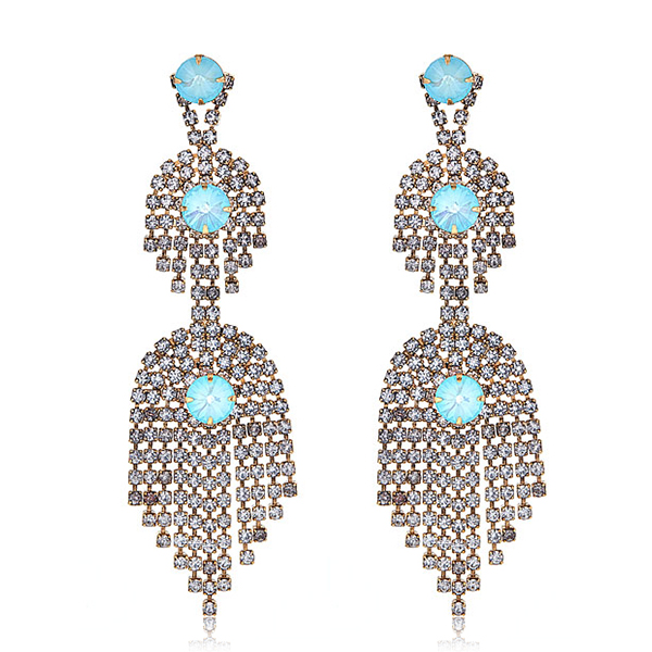 Danica Turquoise Stone Earrings by ELIZABETH COLE