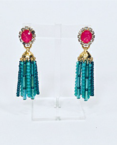 Dessie Turquoise Earrings by ELIZABETH COLE