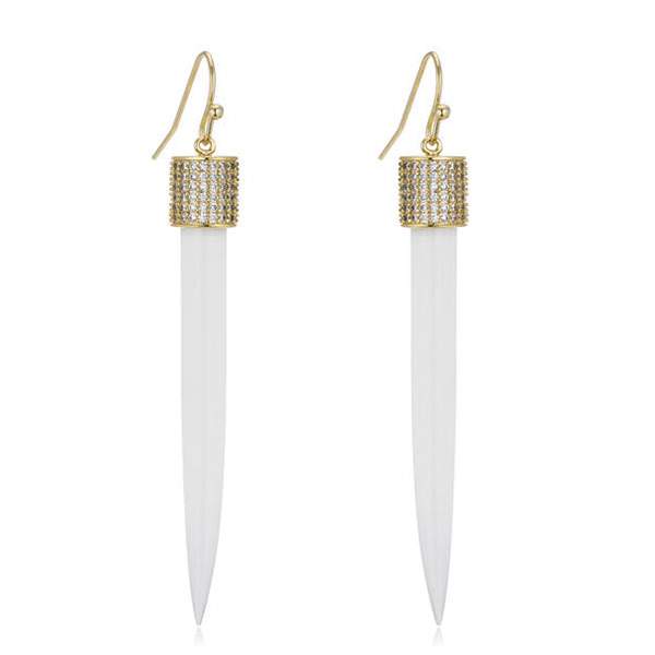 Dagger Earrings  by MARCIA MORAN