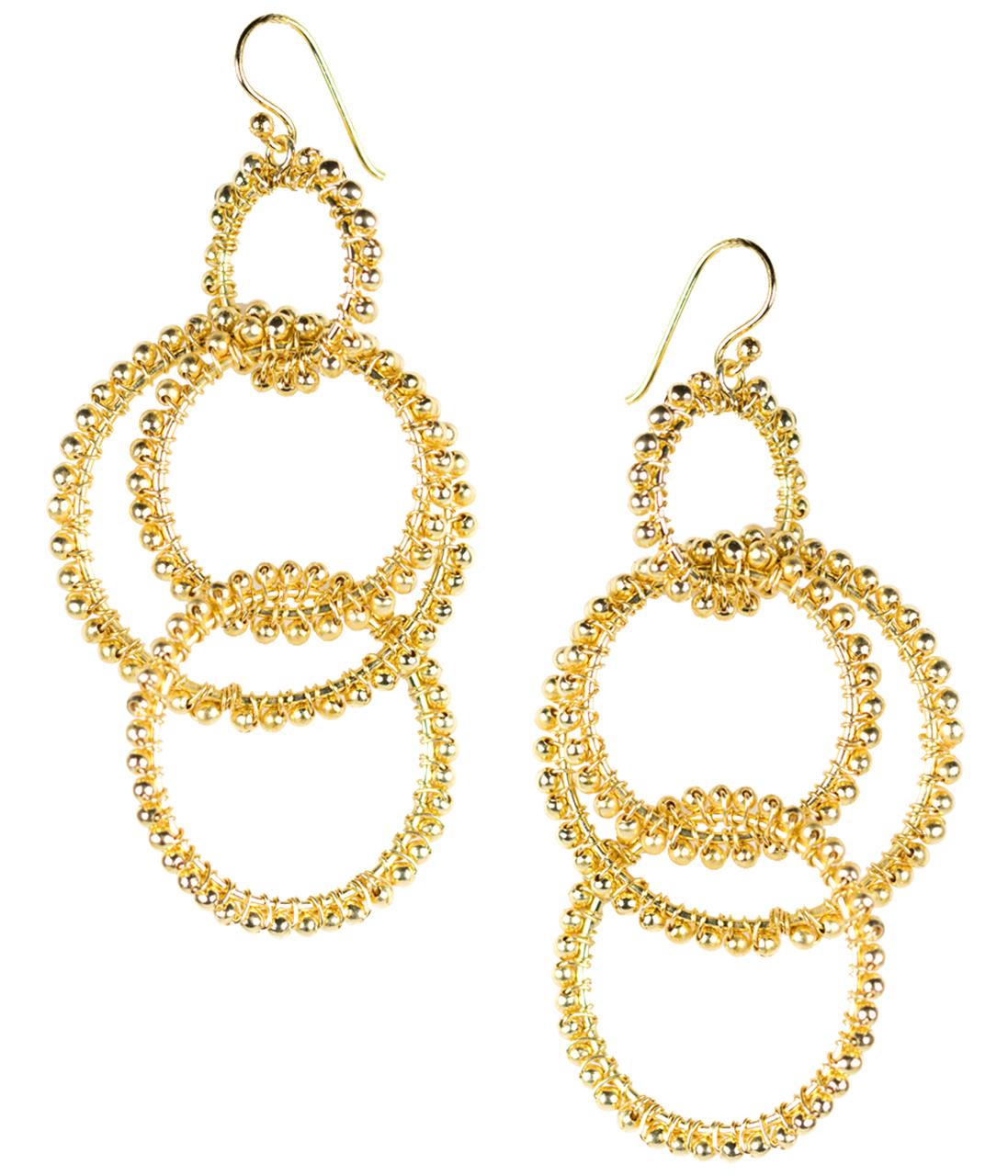 Emily Gold Earrings