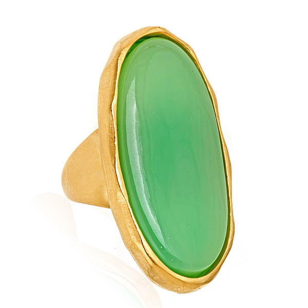 Jade Cali Ring by KENNETH JAY LANE