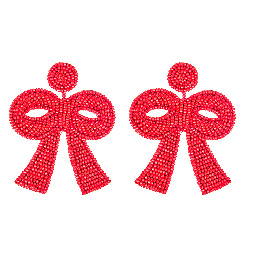 Fifi Christmas Red Mini Bow by French and Ford