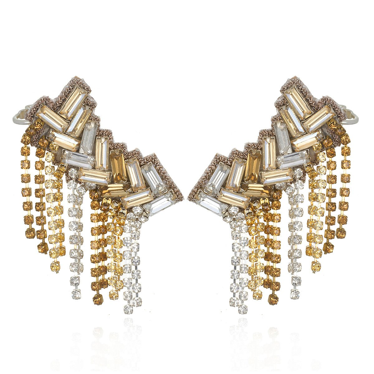 Florian Champagne Ear Crawlers by SUZANNA DAI