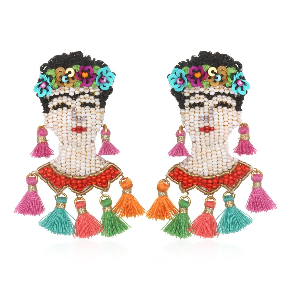 Frida Earrings by SUZANNA DAI