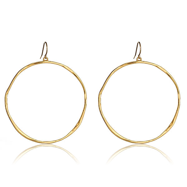 G-Hoop Earrings by GORJANA