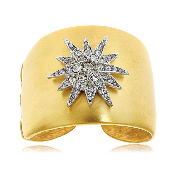 Star Cuff by KENNETH JAY LANE