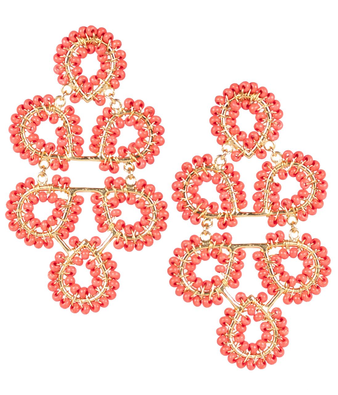 Ginger Conch Earrings
